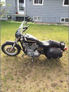 2003 Harley-Davidson XL 883 Hugger 100th anniversary 5500