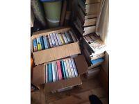 Job lot books, car boot/table top sale.