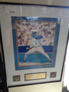 Juan Guzman Toronto BLUE JAY's signed with Authenticity
