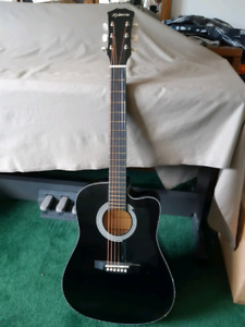 Hyburn H38C junior sized guitar
