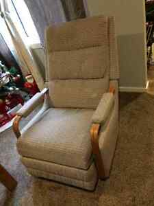 Old style recliner/rocking chair