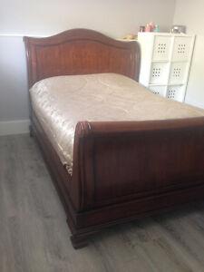 Beautiful Solid Queen Bed