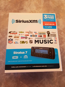Siriusxm Stratus7 Satellite Radio + 3 months free