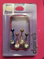 Belly and nose rings never worn