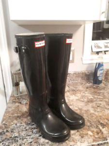 HUNTER rubber boots - UK 3