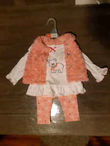 BRAND NEW BABY GIRL WINTER OUTFIT