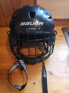 Bauer LiL Sport hockey helmet with cage