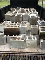 Standard concrete blocks