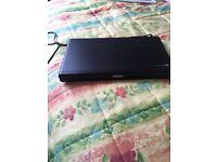 Philips DVD player black