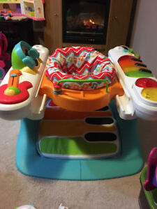 Activity Center Fisher-Price 4-in-1 Step n Play Piano