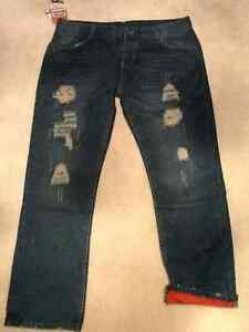 Mens distressed Jeans size 38