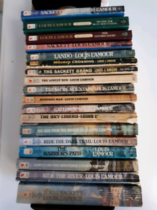 Louis L'Amour book collection