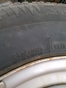Artic Claw Winter Tires