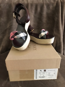Burberry shoes.  Brand new, never worn.