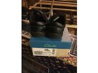 Clarks boys shoes size 9F