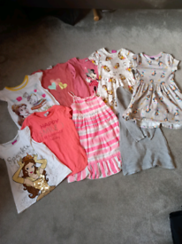 Girls clothing, dresses and tops 5-6 years