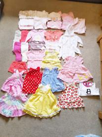 Girls baby bundle age 3-6 months