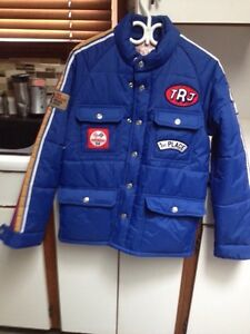 True religion men's down filled jacket size s