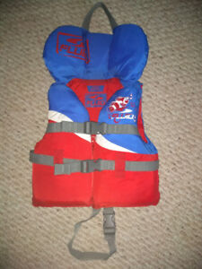 CERTIFIED LIFE JACKET FOR CHILD 14 TO 27 KG (30 to 60 pounds)