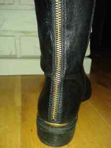 Brand new black Steve Madden leather boots - Women's size 7 1/2 Peterborough Peterborough Area image 3