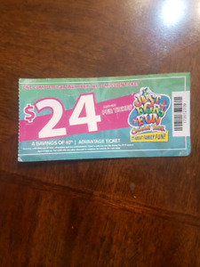 Selling a single calaway park ticket