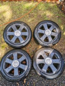 """17"""" Mags AUDI (5x112) / pneus d'été (225/45/r17)"""