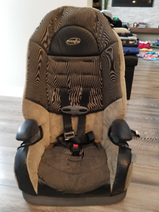 Evenflo car seat convertible to booster seat