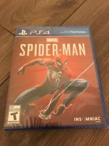 Brand New Spider-Man Game for PS4! Asking $70