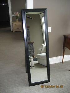 Self Standing Wood Mirror