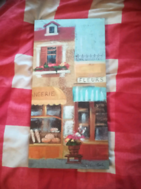 French style decorative canvas