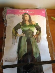 Mother Nature Halloween Costume / Never Worn