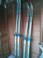 Cross Country Skis and Boots For Sale