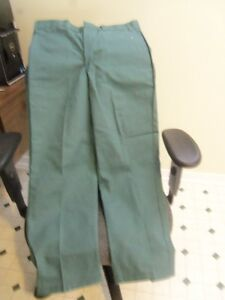 Men's green work pants Hammill