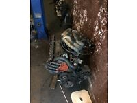BMW E30 M20B20 2.0 Full engine clutch gearbox all working BARGAIN