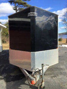 16 foot aluminum v noised enclosed trailer for sale