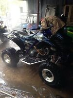 2003 686 yamaha raptor ,tons of new parts!!