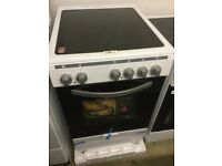Montpellier white Electric Cooker 50cm Wide