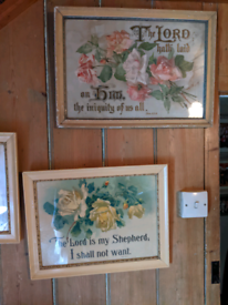 Bible Quote Framed Pictures