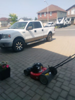 Lawn cutting & landscaping