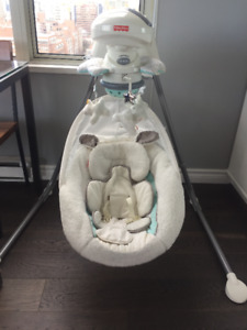 Baby Swing - My Little Lamb Cradle and Swing Fisher Price