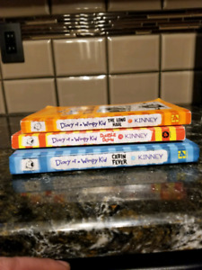 For Sale Dairy Of A Wimpy Kid Books