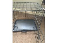 Small puppy metal dog cage