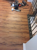Quality Laminate Floor Installation Starting at $1.00 per sq.ft