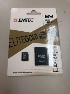 Elite gold 64 gig micro as card