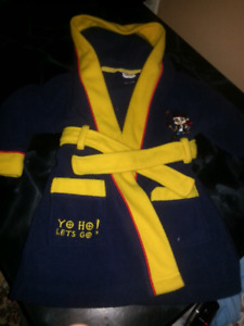 Disney pirate robe Size 6-18month's