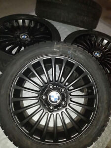 BMW WHEELS WITH WINTER TIRES