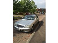 Mercedes Benz sclass 320 98000miles full service history very good con only £2200