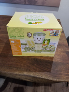 Baby magic bullet for sale, brand new never used