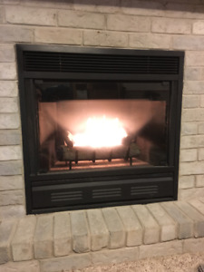 Natural Gas Fireplace - Zero Clearance Plus Parts
