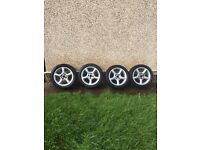 4 x mondeo / focus wheels 16 inch ( fit most 4 stud fords )